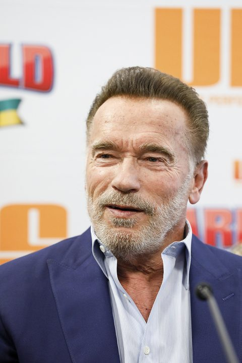 Arnold Schwarzenegger Press Conference