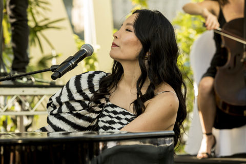 Dami Im at Sony Charity Lunch