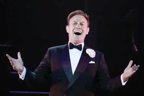 Jason Donovan performs in Chicago